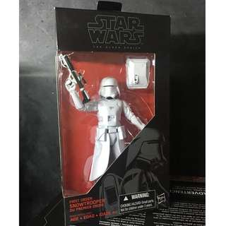 Star Wars The Black Series First Order Snow Trooper 6""