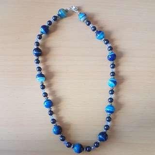 Blue Handmade Necklace