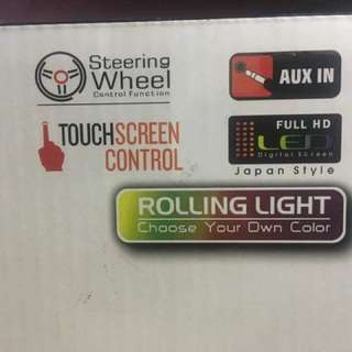 Xpod touch screen stereo