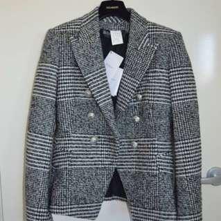 Balmain Tweed Blazer FR 40
