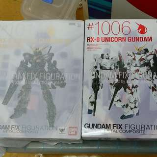 Gundam FIX Metal composite 獨角獸 #1006 #1011