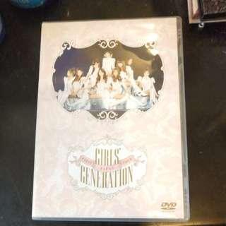少女時代 1st japan tour DVD
