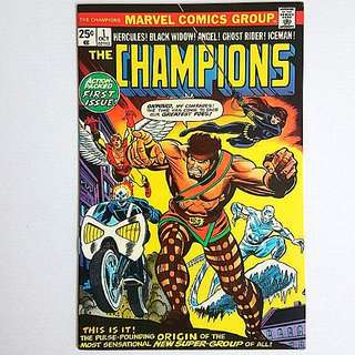 Marvel Comics Champions 1 Near Mint Condition Bronze Age