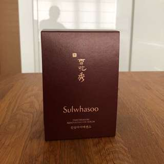 Sulwhasoo Timetreasure Renovating Eye Serum (NEW)
