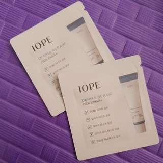 Derma repair cica cream iope sample
