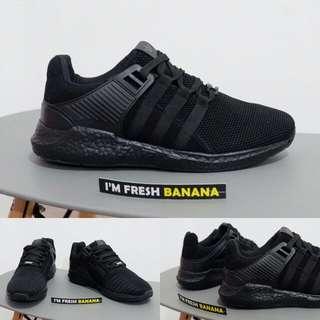Sepatu adidas running EQT support Equipment ADV Full black