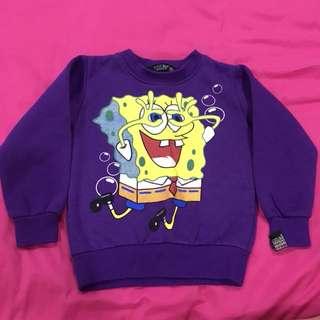 Purple Kids Sweater
