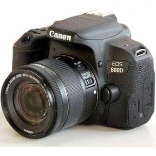 Canon EOS 800D 18-55mm IS STM Lens