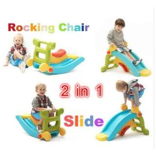 Kids Slide And Rocking horse
