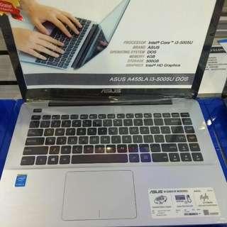 Asus A455LA - WX667D Cukup Bayar DP Cicilan Tanpa Kartu Kredit