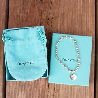 Tiffany & Co 'I Love You' bead bracelet