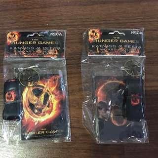 ALL 2 Hunger Games Lanyard and Pin
