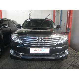 Toyota Fortuner Diesel VNT AT 2013