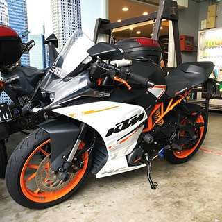 2016 KTM RC390 ABS (MAy 2016) Ohlins