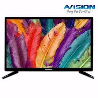 "Avision 19"" HD Ready LED TV Black 19K785    Brand New   Cash On Delivery"