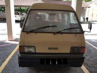Mazda Bongo 1.4 Van Bundle jual di Pasar Malam