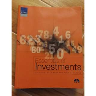 Essentials of Investment
