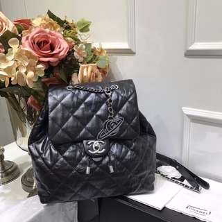 Chanel Iridescent Calfskin Backpack