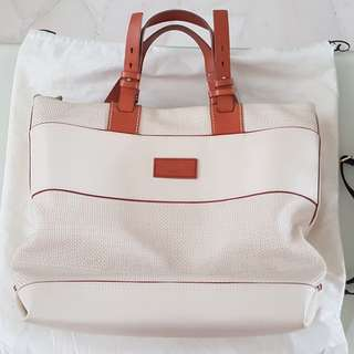 Bally Full Calf Leather Tote with Sling