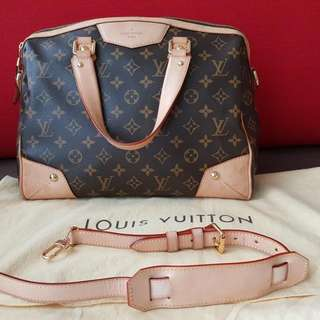 LV MONOGRAM CANVAS RETIRO PM