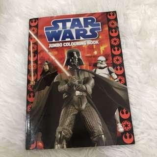 Star wars jumbo coloring book