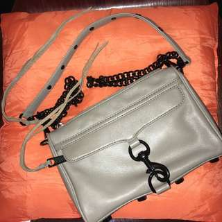 Rebecca Minkoff mini M.A.C Crossbody  99% new 黑鏈 Black chain 包 袋 手袋 斜揹袋 皮袋 皮
