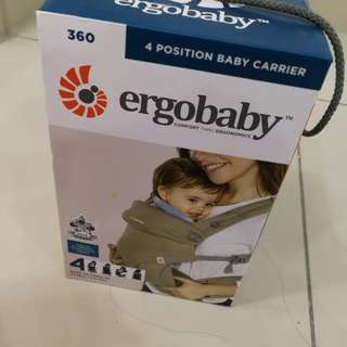 Ergobaby carrier 4 position 360