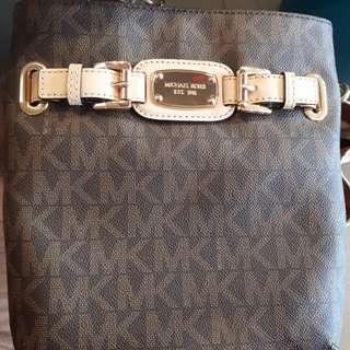 Authentic mk hamilton sling bag