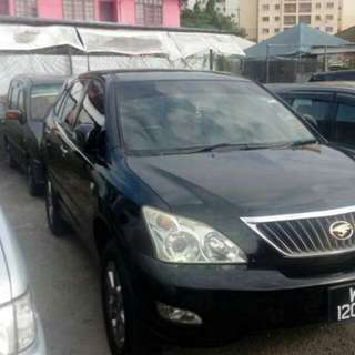 Toyota Harrier 2.4 2007/2011