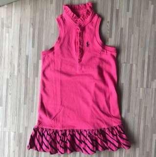 BN Pink halter neck dress (3yo)