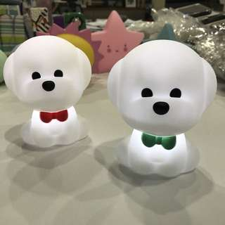 Mini LED Night Light/Lamps (Puppy)