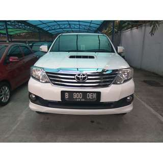 Toyota Fortuner Diesel VNT AT 2014