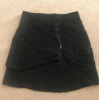 Kookai black skirt