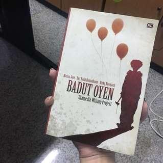 """Novel """"Badut Oyen"""""""