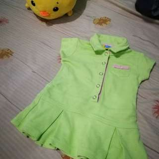 Big and Small Co. Baby dress 12m