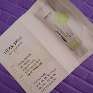 Near skin derma cosmetic  madecanol cream to help improve damaged skin barrier with madecanol