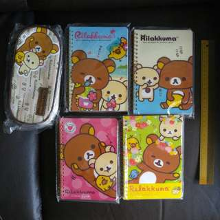 Rilakkuma stationery set