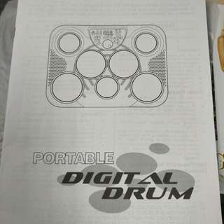 Portable Digital Drum Instruction Manual