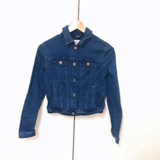 Bershka Fitted denim jacket