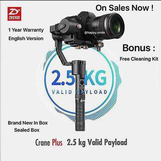 ( Limited Stock ) Zhiyun Crane Plus