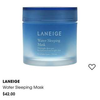 ✨VDAY Special✨ Laniege Water Sleeping Mask
