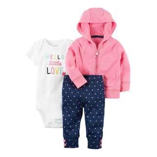 CARTER'S 3-Piece Neon Little Jacket Set