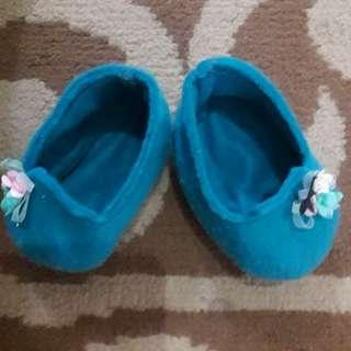Sepatu bayi blue
