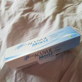 1-Day Acuvue Moist - 2 pieces