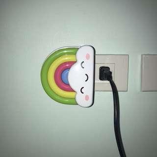 Auto-detect Rainbow Night Lamp/ Light