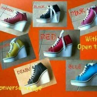 Converse Inspired Wedge