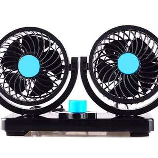 TWIN CAR FAN