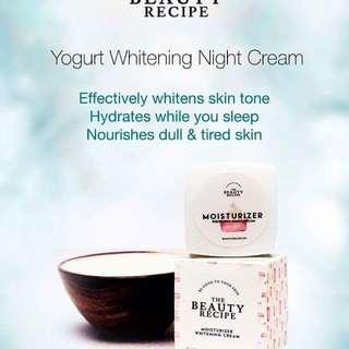 Yoghurt Whitening Night Cream