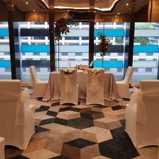 Wedding Solemnisation in Sofitel Singapore City Centre Wedding Venue Decor