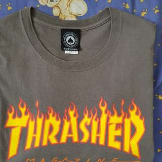 Trasher Grey T-shirt size L